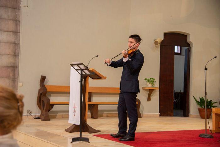 Mi entrada: mi marido al violín 3