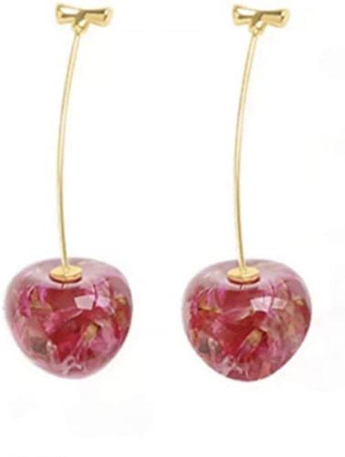 Pendientes con un toque rosa 2