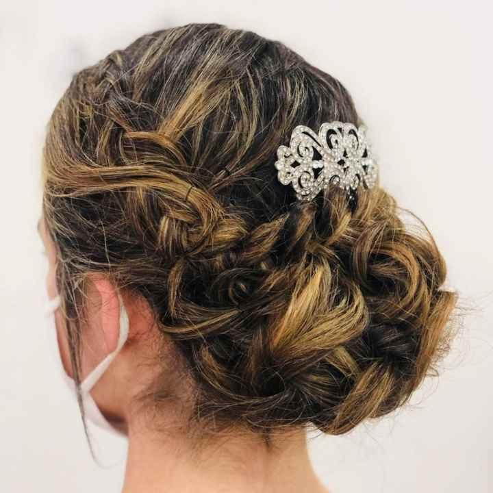 Mi peinado de novia 2021 - 2