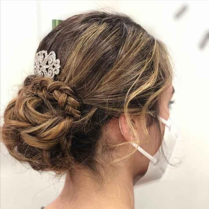 Mi peinado de novia 2021 - 3