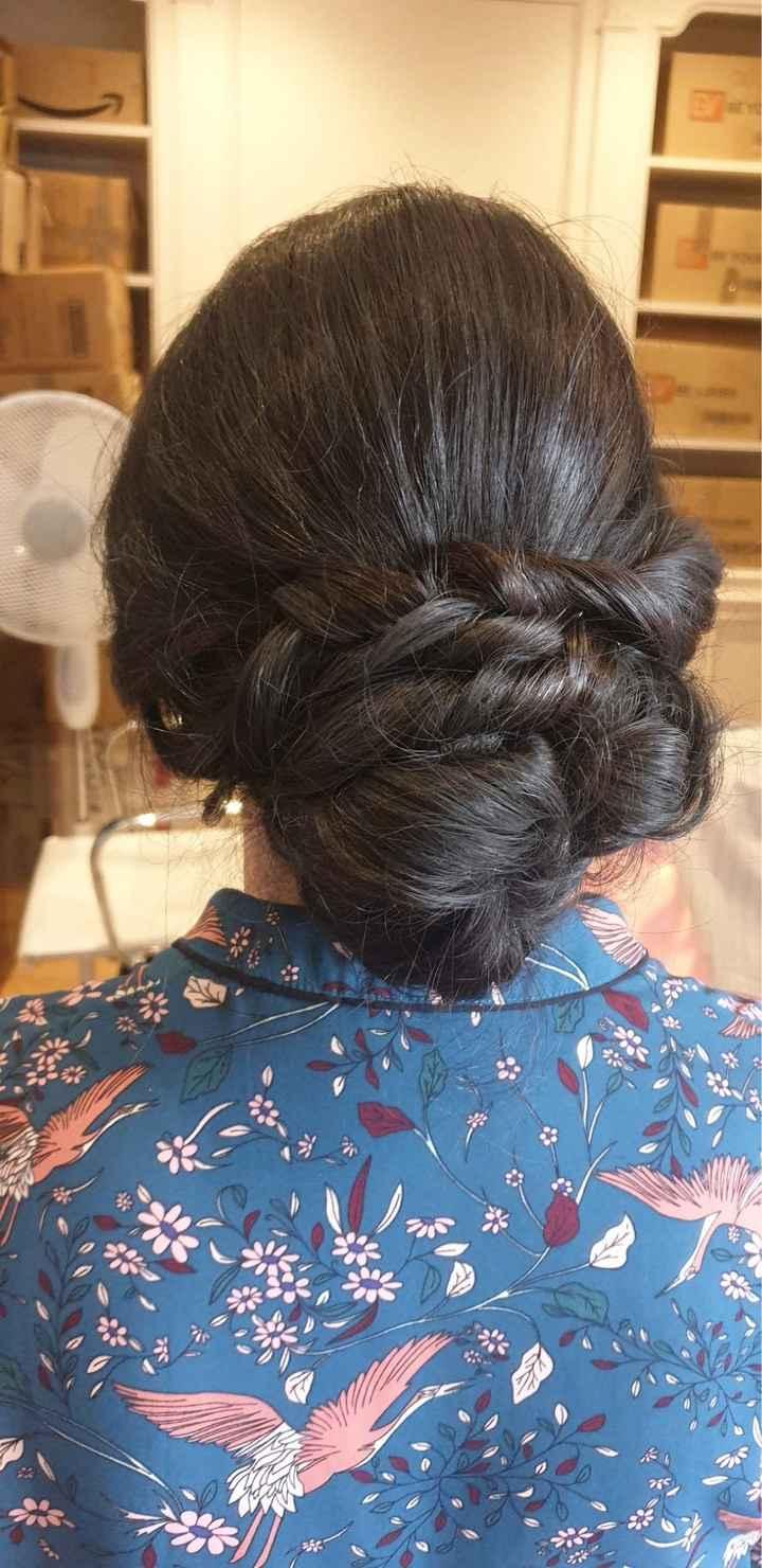 Otra prueba de peinado - 1