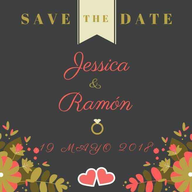 Mi Save the Date!!! - 1