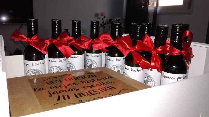 regalos para la mesa ganadora del baile