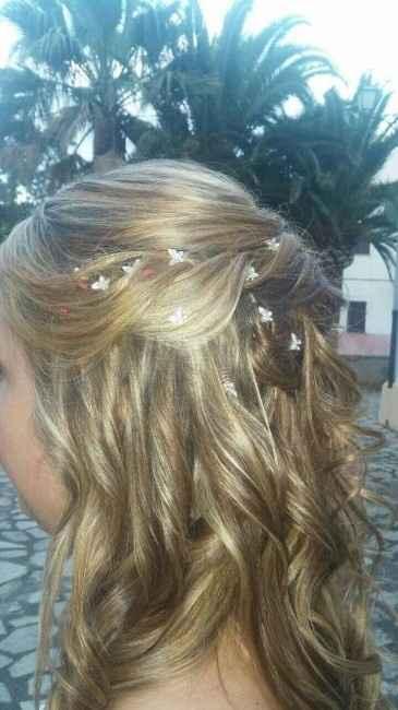 Mi peinado de boda