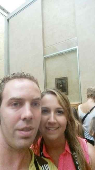 En el museo louvre