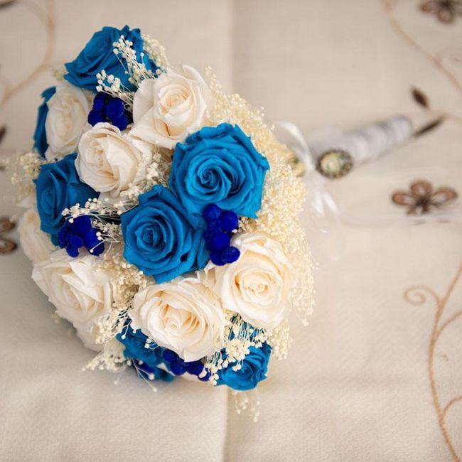 Ramo de novia azul? 6