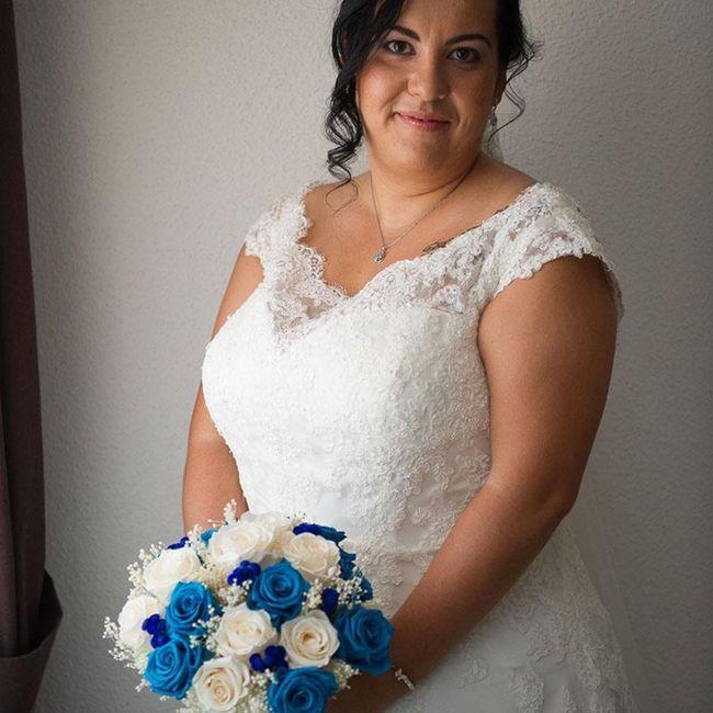 Ramo de novia azul? 7