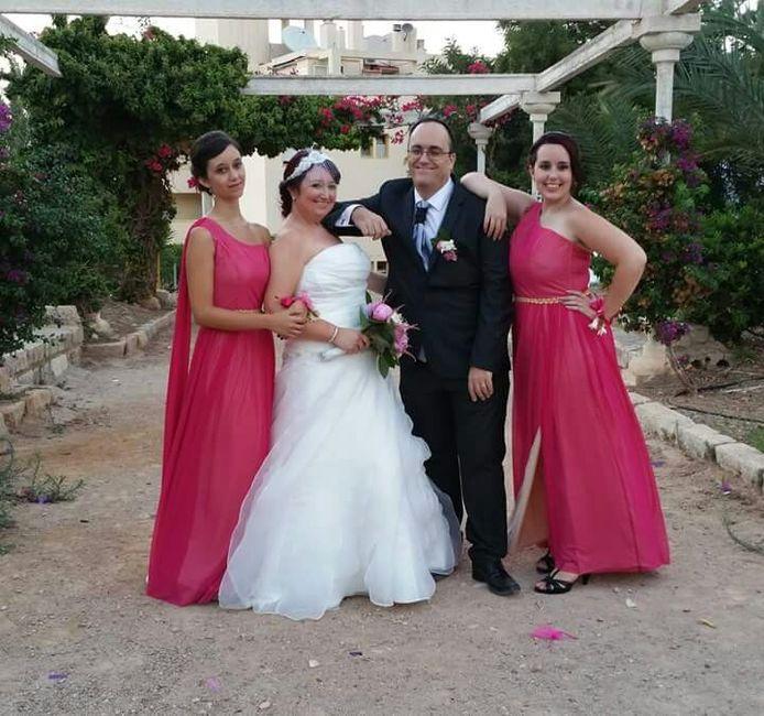 Vestido de novia para novias con espalda ancha