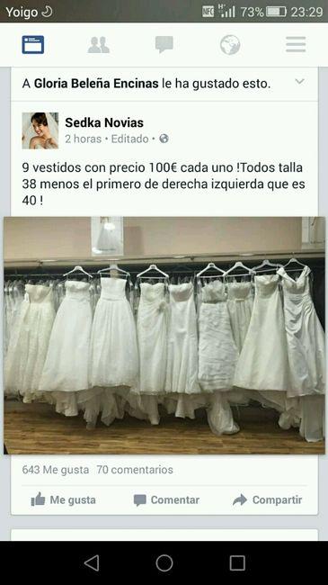 Vestidos de novia de 100 euros