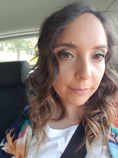 Prueba peinado y maquillaje 2