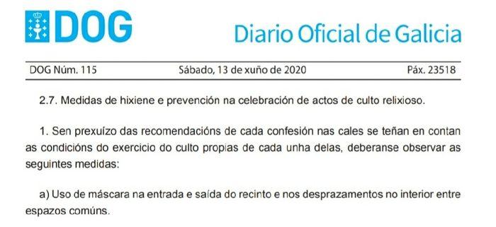 Nueva normalidad Galicia 2