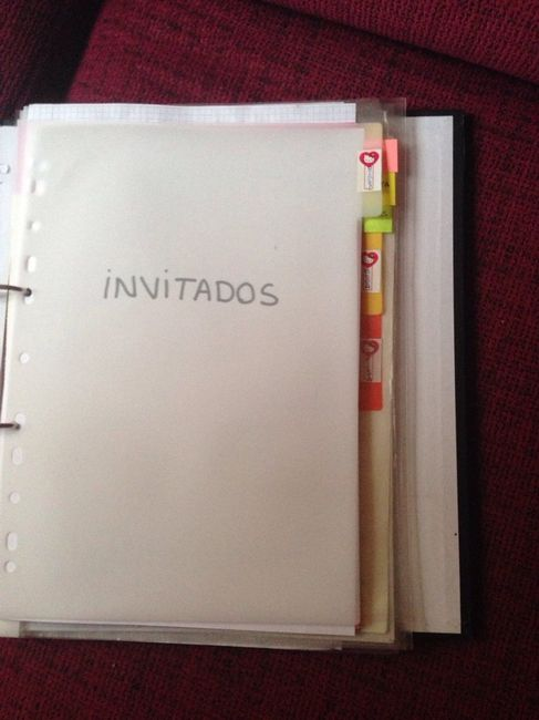 Como hacer mi propia agenda de boda foro - Como preparar mi boda ...