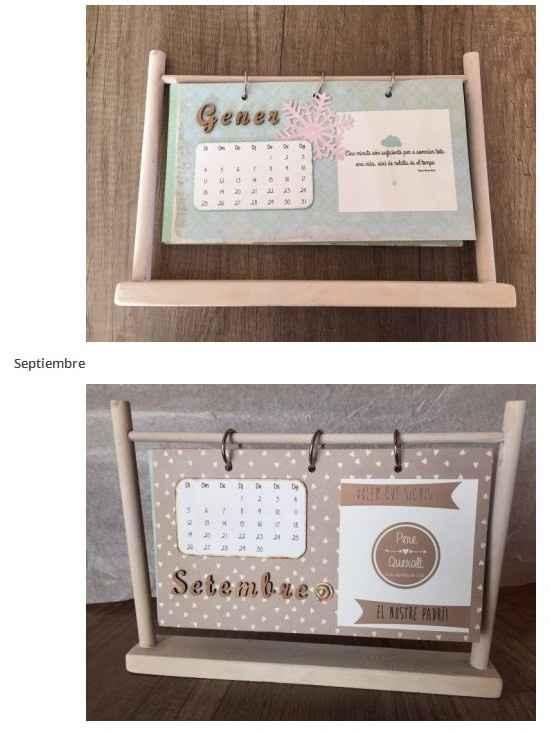 Calendario por dentro