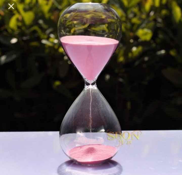 Reloj de arena para rellenar - 1