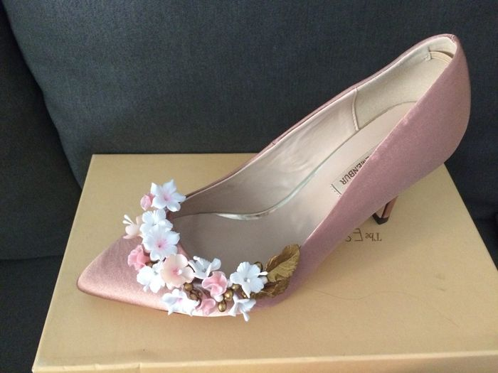 zapatos novia rosa palo- nude-maquillaje o plata? - moda nupcial