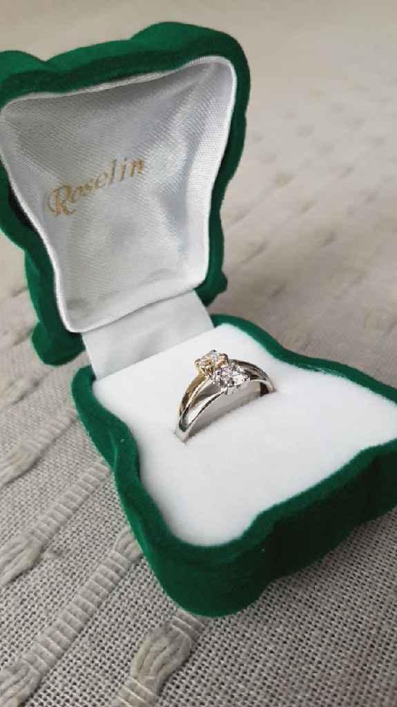 Como es tu anillo de pedida?? - 1