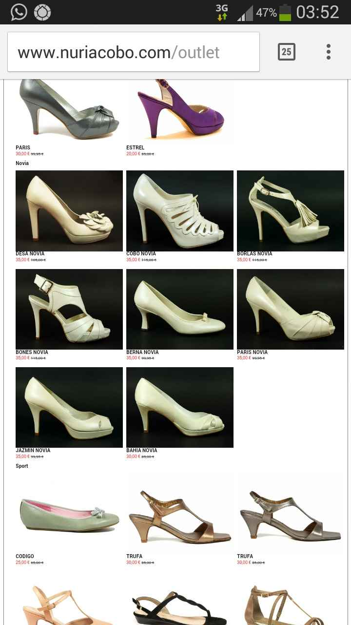 Que opinais de estos zapatos - 1