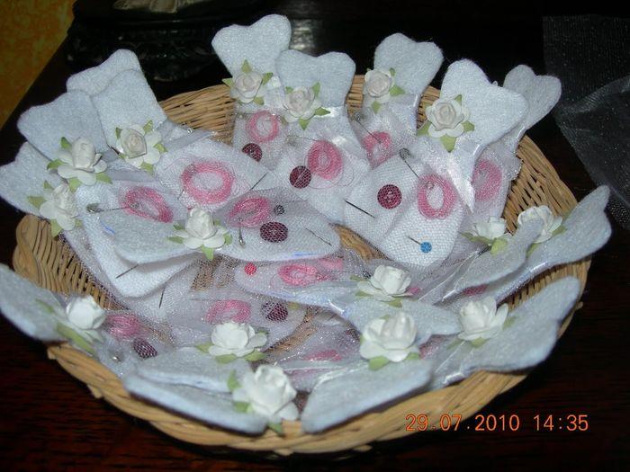 Detalle de costura para boda manualidades foro - Manualidades para una boda ...