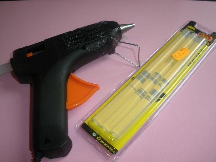 Pistola silicona