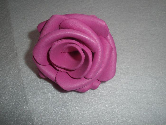 ramo de rosas con goma eva