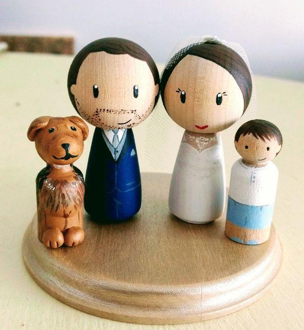 Muñecos de novios personalizados - 1