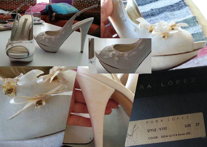 Sandalias con tara