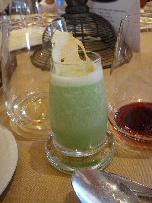 Sorbete de manzana verde y sidra fotos - Sorbete de manzana verde ...