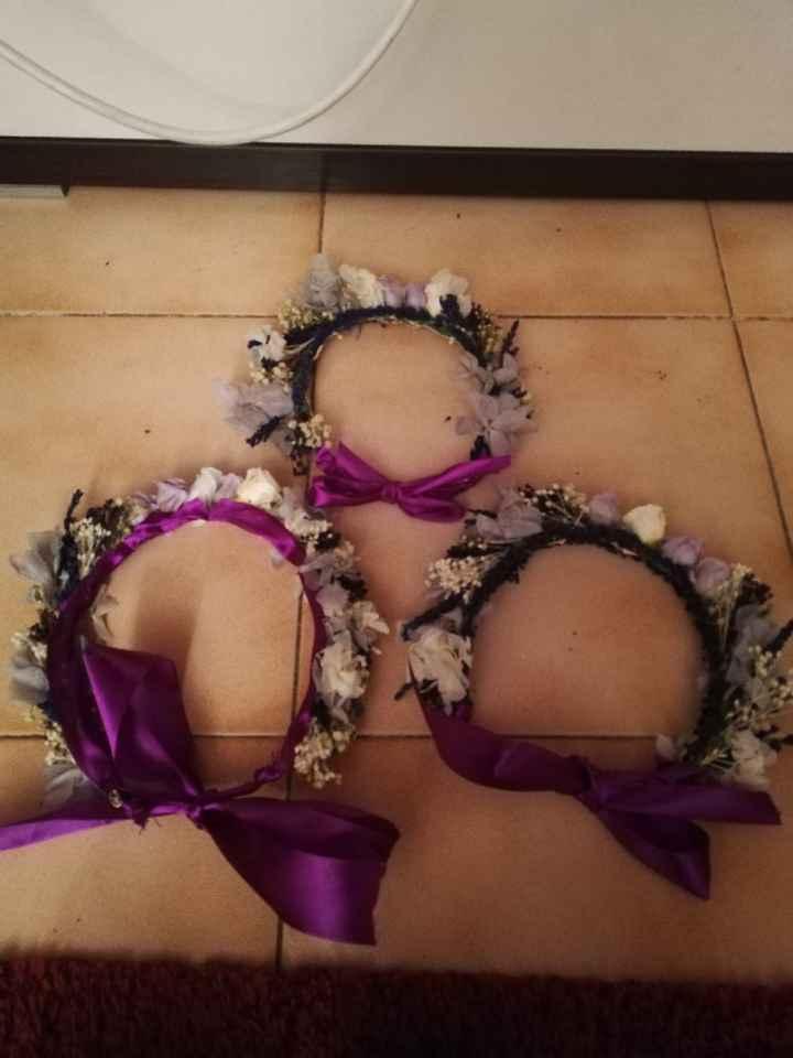 Coronas de flores preservadas - 1