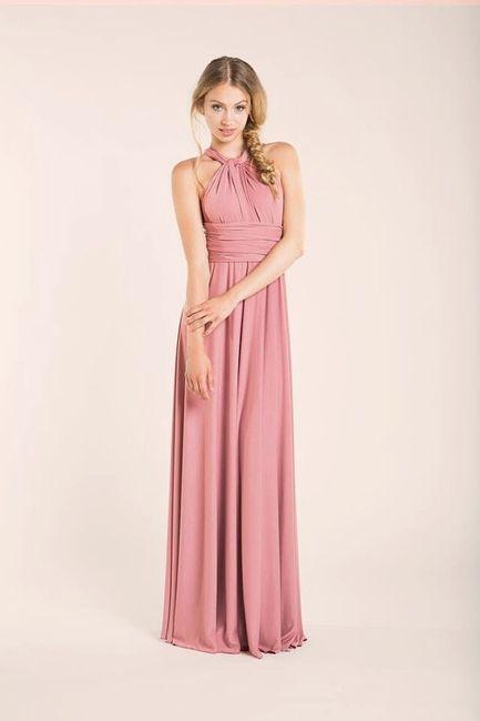 Vestidos dama de honor convertibles - Moda nupcial - Foro Bodas.net
