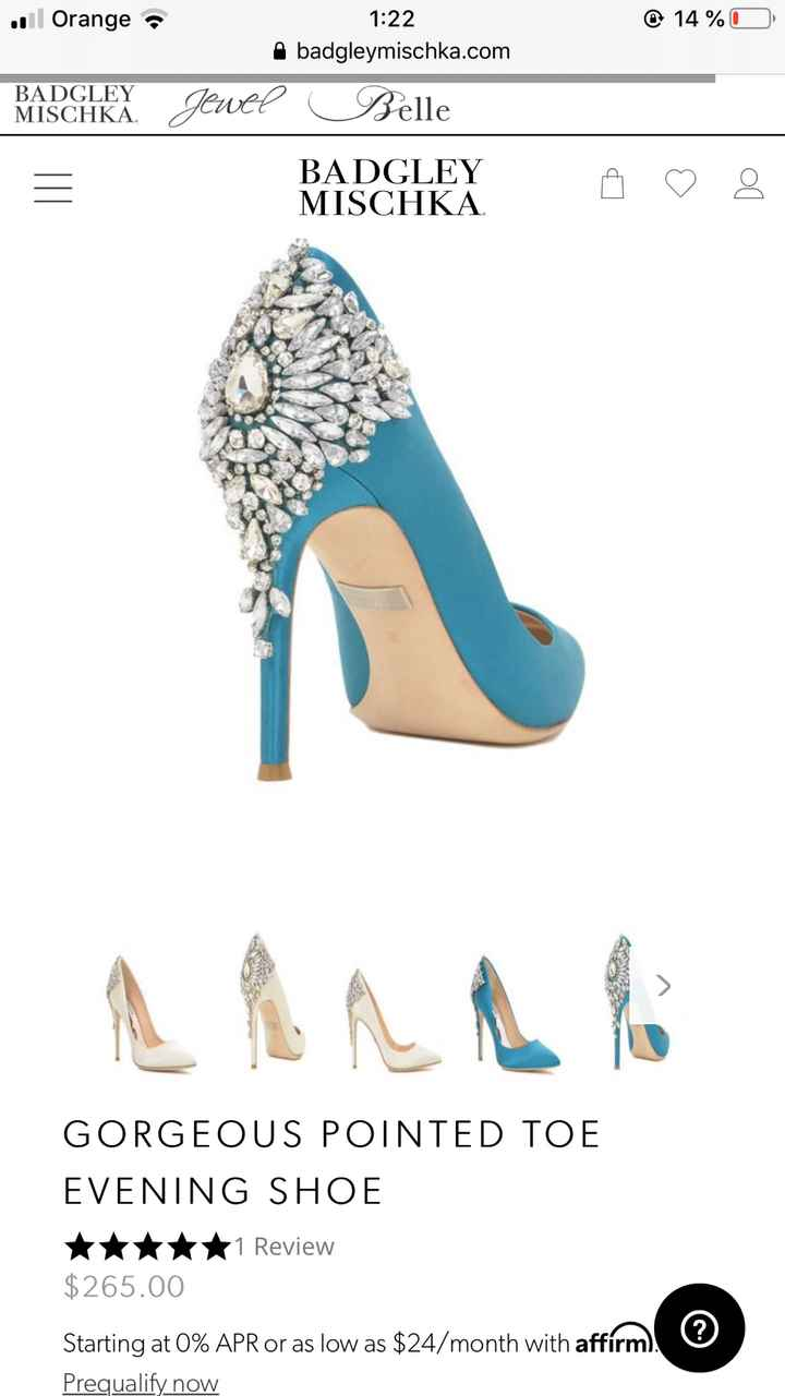 Zapatos Badgley Mischka - 1