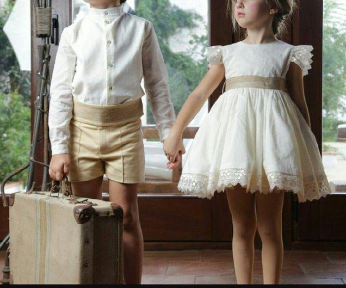 6a3eb5a2b Trajes pajes niño niña - Málaga - Foro Bodas.net