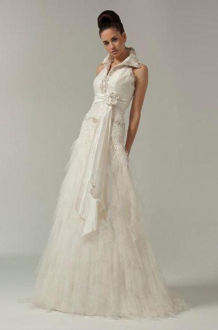 vestido novia inmaculada garcia / gran de gracia 9, bcn - barcelona