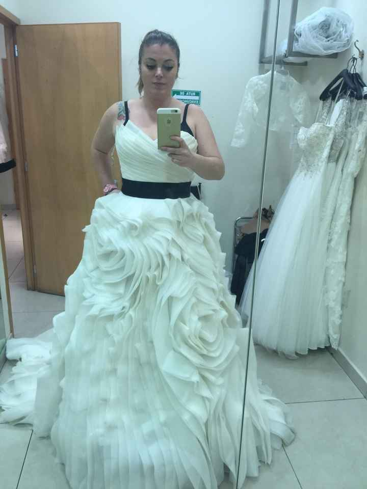 Feliz con mi vestido!!!!! - 1