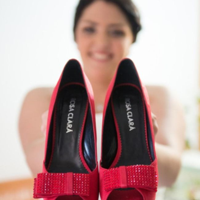 Zapatos novia rojos - 1