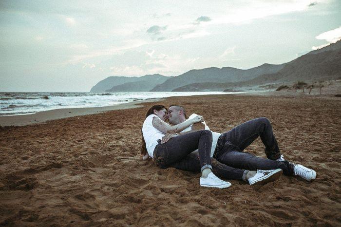 Fotos preboda en la playa - 1