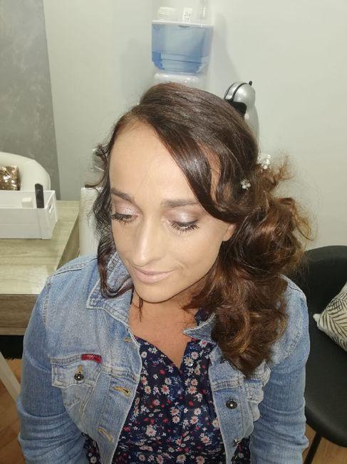 Mi peinado y maquillaje de posboda 2