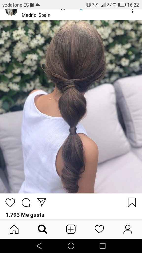 La sencillez de un peinado.. - 1