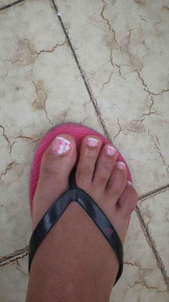 Mis uñas para el dia de b..😍 - 2