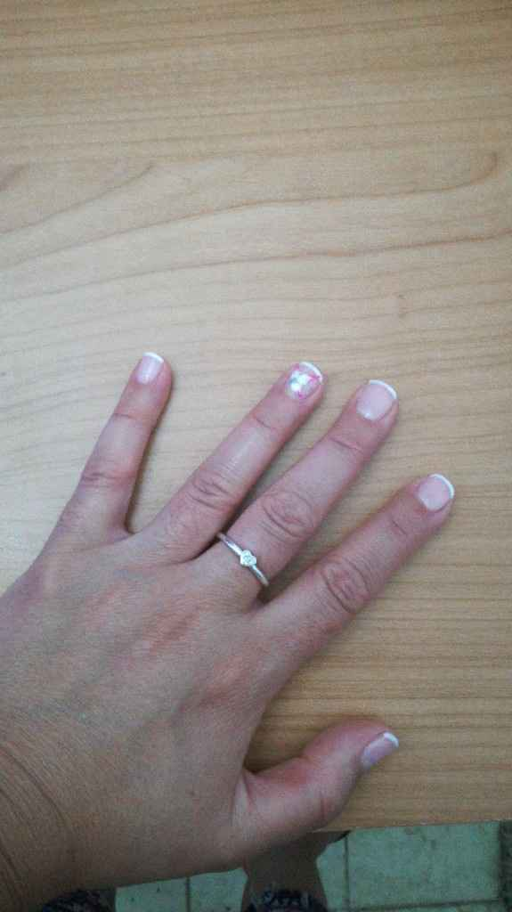 Mis uñas para el dia de b..😍 - 3