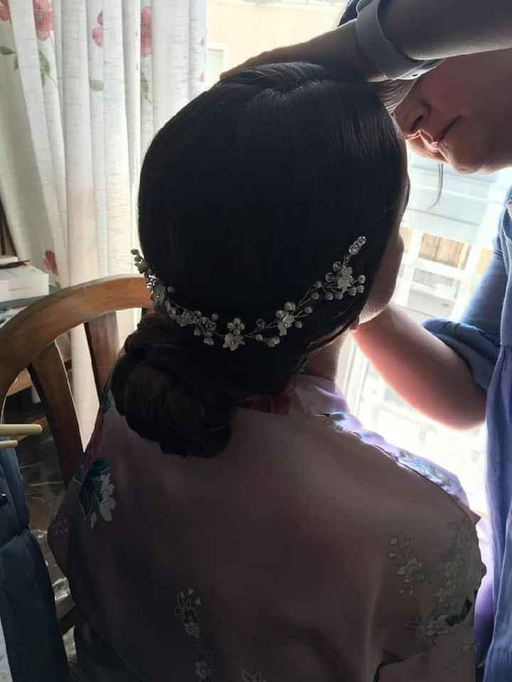 El peinado que lleve😍 para mi boda - 1