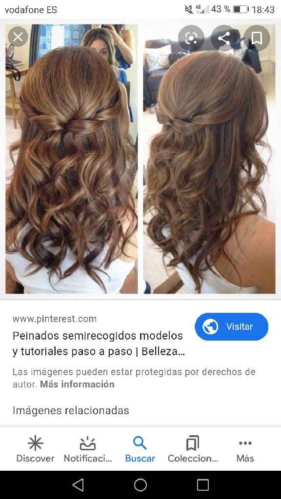 Peinado para fotos de posboda - 2