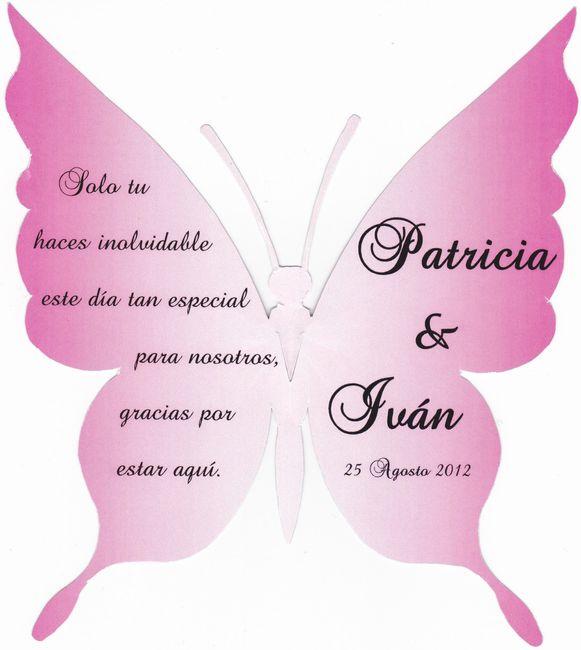 Mariposas agradecimiento - Organizar una boda - Foro Bodas.net