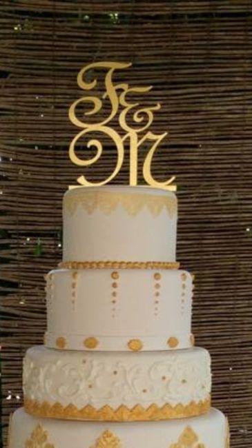 Cake toppers en vez de los muñecos tradicionales - 1