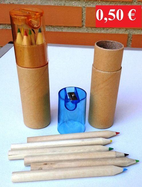Busco set de lápices.  sabéis donde? - 2