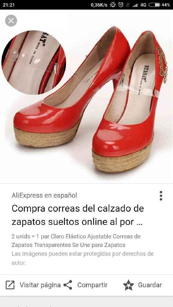 La he liado con los zapatos 🙁 - 3