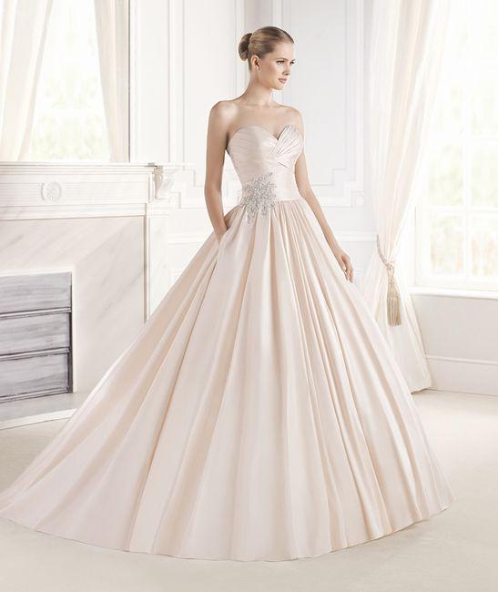 eugenia la sposa vestido rosa - moda nupcial - foro bodas