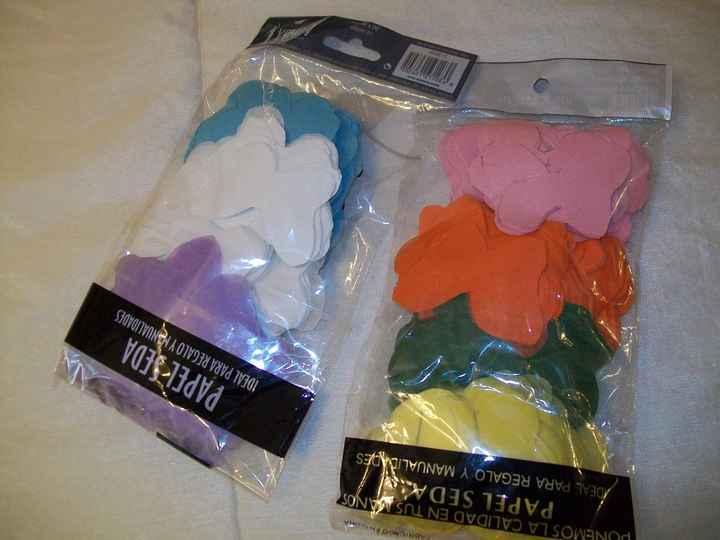 Mariposas de colores para tirar