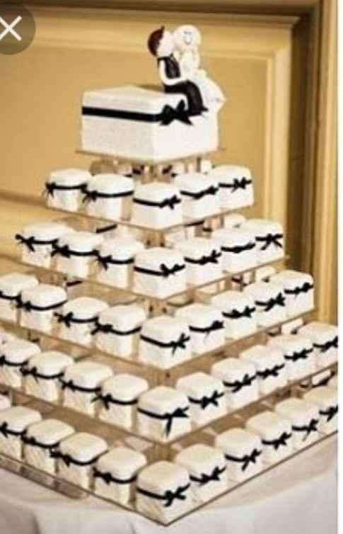 ¿Cuántos pisos tendrá tu tarta nupcial? - 1