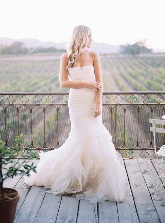 ¿Llevarás un vestido ceñido?