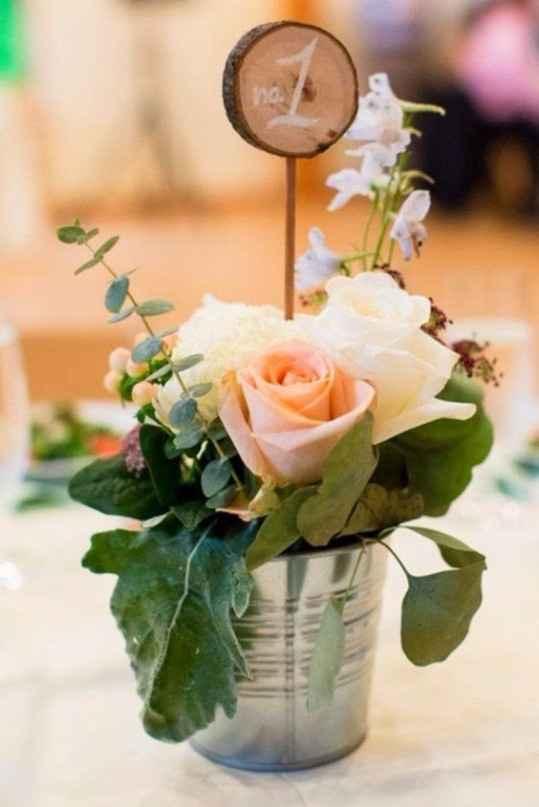 meseros de flores